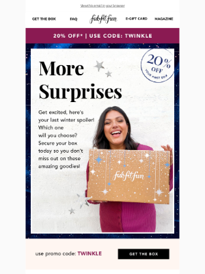 FabFitFun - More spoilers? Yes, please!