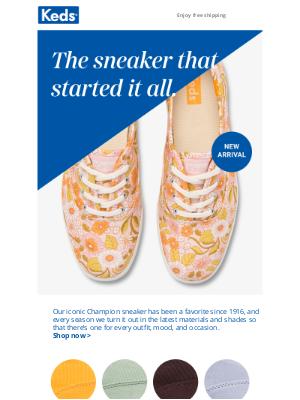 Keds - The sneaker every closet needs
