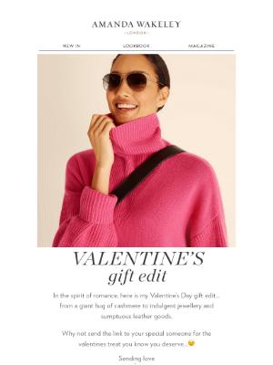 Amanda Wakeley (UK) - Valentine's Gift Guide
