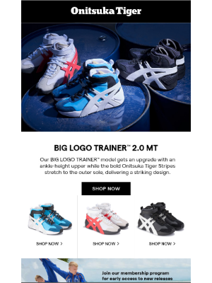 Go Big with the BIG LOGO TRAINER™ 2.0 MT Style