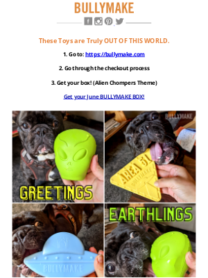 BULLYMAKE - These Toys Are OUT OF THIS WORLD!👽
