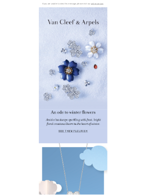 Van Cleef & Arpels - New flowers blossoming this winter