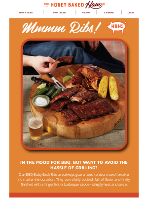 HoneyBaked Ham Online - 🍖Limited Time Offer—Save on BBQ Ribs!🍖