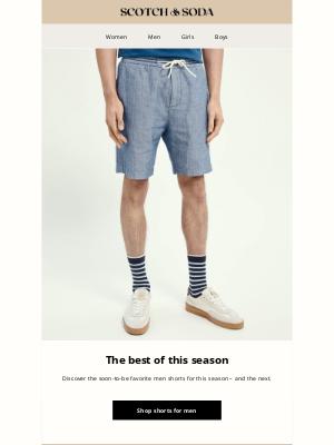 Scotch & Soda - Find our edit of men shorts
