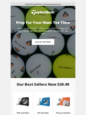 TaylorMade Golf - Ready For Your Next Round?