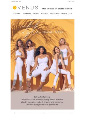 VENUS Fashion - VENUS Has Style For All Sizes