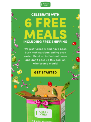 Green Chef - Let's SALE-ebrate 🥳