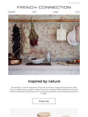 French Connection (UK) - Radiate warmth in your interior refresh