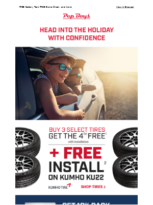 Pep Boys - Get your ride ready for the 4th of July!