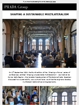 Prada - Shaping a Sustainable Multilateralism