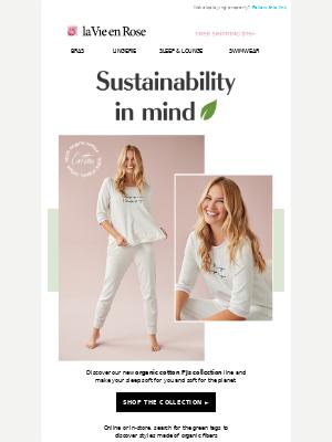 La Vie en Rose - 🌿NEW IN! Organic cotton PJs