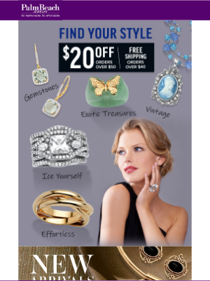 PalmBeach Jewelry - Re: Your $20 Reward is Expiring Soon...
