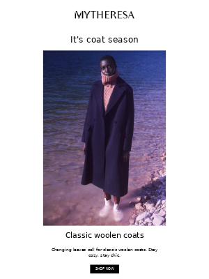 My Theresa (UK) - 3 coats to wear from fall to winter