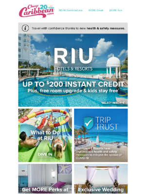 CheapCaribbean - Upgrade Your Stay at RIU Hotels & Resorts