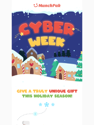 Save Up To 25% Off 🎄 Cyber Week Ends Soon!