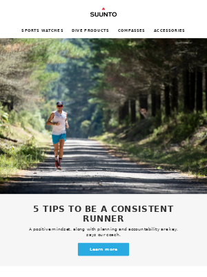 5 tips to be a consistent runner