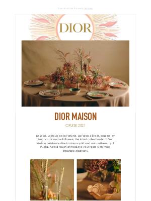 Dior UK - Cruise 2021 Dior Maison Collection