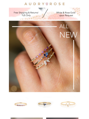 Audry Rose - OMG! We Are So Excited To Release Our New Collection!