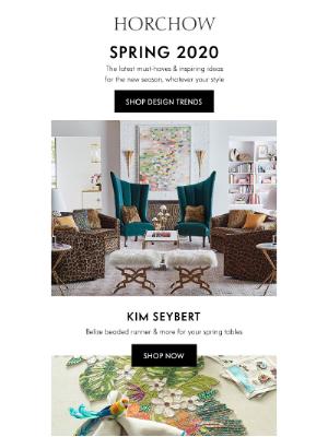 NEW for spring! + Kim Seybert spring designs
