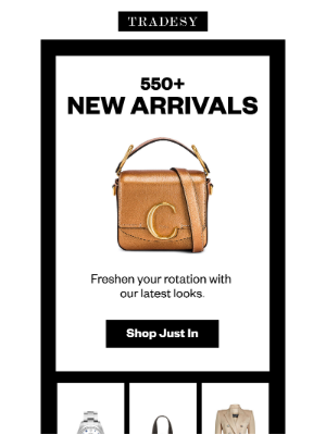 Tradesy - 550+ New Arrivals for You