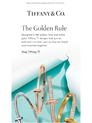 Tiffany & Co. - Which Tiffany T1 Design Is Your Favorite?