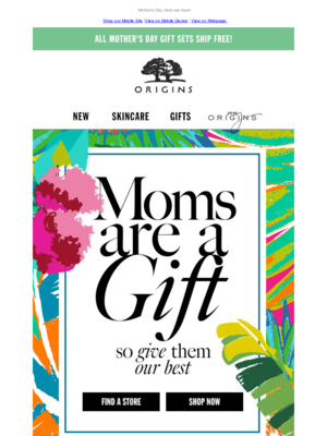 Mother's Day Sets are here! Shop our Mobile Site |View on Mobile Device | V