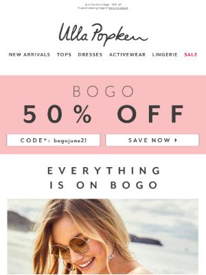 Ulla Popken USA - Last chance for BOGO 50% off