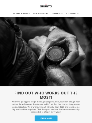 suunto - Data crunch: sports in 2020