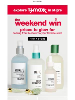 In store: Pretty, pretty prices 💆