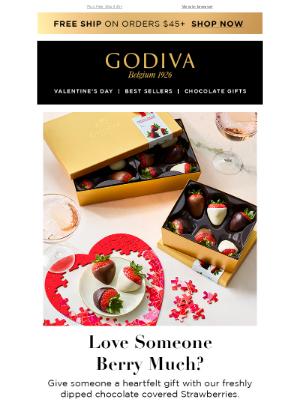 GODIVA - Love Someone Berry Much? 🍫🍓