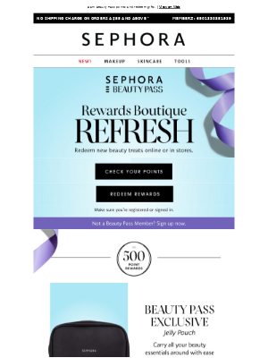 New rewards from tarte, Marc Jacobs & more
