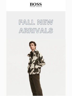 HUGO BOSS - Just In! New Fall Arrivals