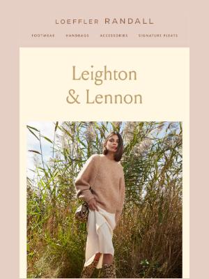 Loeffler Randall - New Boots: Meet Leighton & Lennon