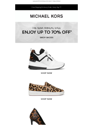 Michael Kors - Spotted: Up To 70% Off!