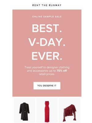 ICYMI: Online Designer Sample Sale