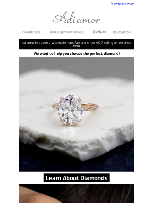 Adiamor - Here's What You Need To Know About Diamonds!