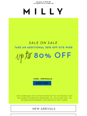 DON'T MISS OUT : 30% OFF SITE WIDE