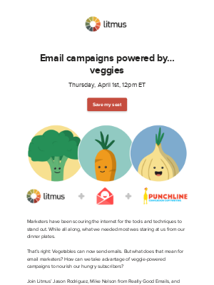 Litmus - Is spinach the new email secret weapon?