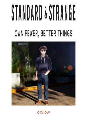 Standard & Strange - DEEP DIVE: The OrSlow 105 Standard Fit Jean