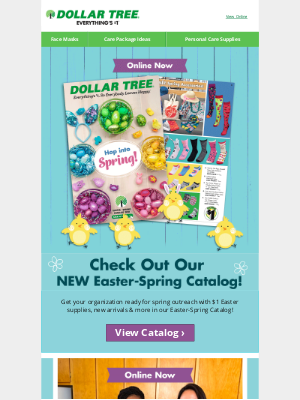 Dollar Tree - Our Easter-Spring Catalog is Here!