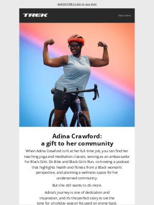 Trek Bicycle - Adina Crawford: a gift to her community