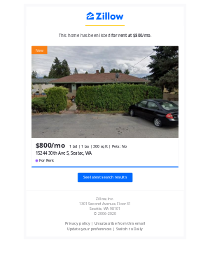 New Listing: 15244 30th Ave S, Seatac, WA 98188. Your 'Seatac WA' Search.