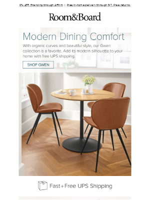 Top-selling dining chair and stool, starting at $219
