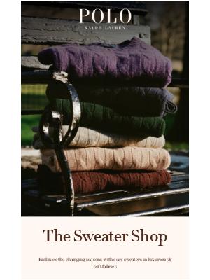 Ralph Lauren - It's Sweater Season
