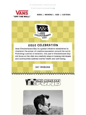 Vans - Vans Checkerboard Day is TODAY!