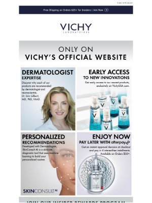 Vichy - Your Exclusive Perks