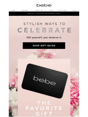 bebe - Your Mother's Day Gift Guide