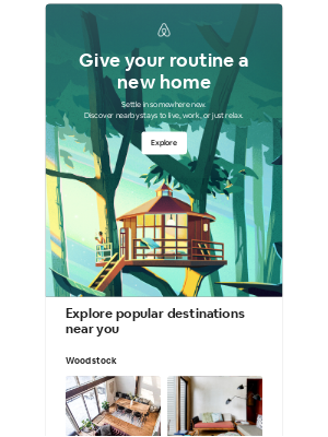 Airbnb - Linda, turn the everyday into a getaway
