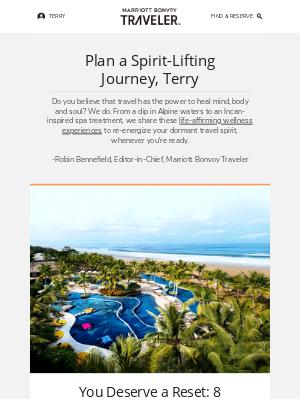 Marriott International - 8 Wellness Vacations Around the Globe