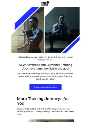 Freeletics - NOW: Weight training you can do anywhere